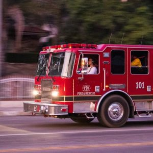 San Antonio, TX – One Injured in Collision with Fire Truck on NW Loop 410